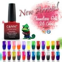 #50801 CANNI Thermal Color Changing Gel Polish Nail Art Salon DIY Temperature Color Changeable Soak off UV LED Gel Nail Varnish
