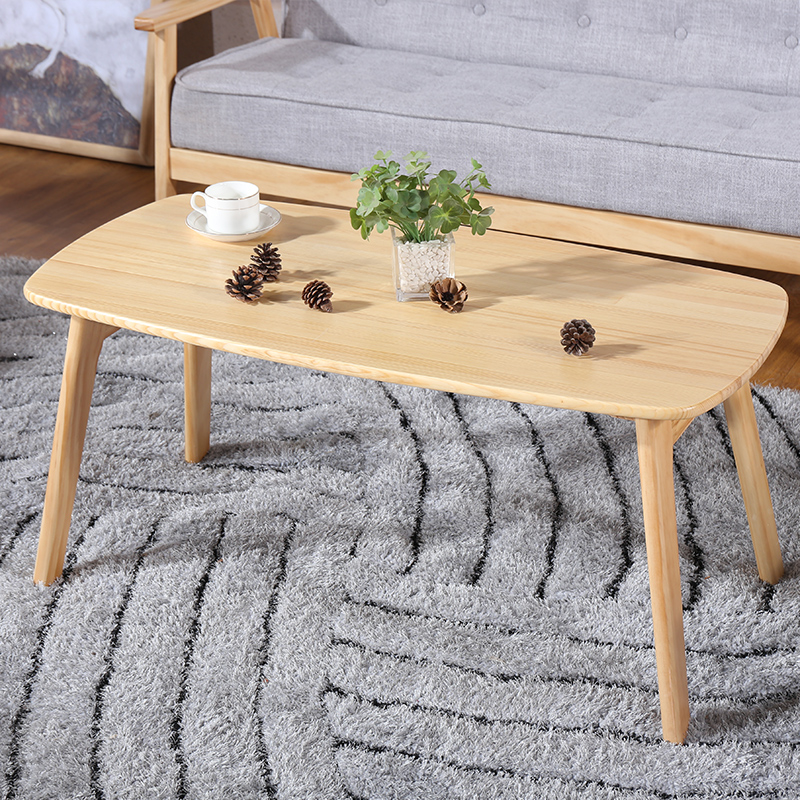 Japanese coffee table, pine wood, solid wood tea table, modern simple  coffee table, small size, low table, living room furniture-in Coffee Tables  from ...