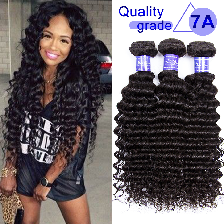 Sale Promotion indian curly virgin hair 1 Bundle 7a  Indian Virgin Hair deep wave 100 bulk  wholesale