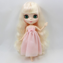 Factory Neo Blythe Doll Light Blonde Hair Jointed Body 30cm