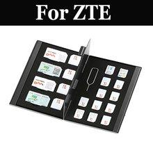 21 в 1 алюминиевая коробка для хранения карт памяти для zte Blade L5 Plus V7 Lite Max Plus V8 Lite Mini Pro V9 V9 Vita Axon M 7 Max mini