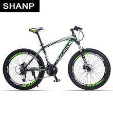 цена на Lauxjack Mountain Bike Steel Frame 24 Speed Shimano 26