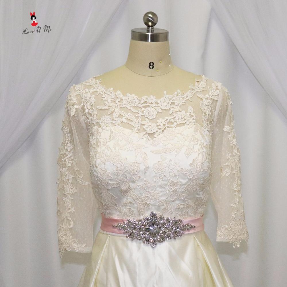 Vintage Boho Wedding Dress Long Sleeve Bride Dresses Vestido de ...