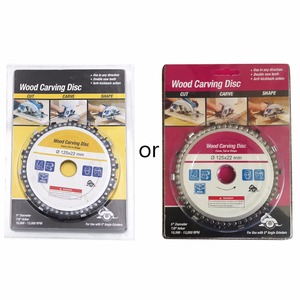 Image 3 - 5 zoll 14 Zahn Grinder Kettensäge Disc für Schneiden Holz Sägeblatt Kette Rund 125*22mm Neue