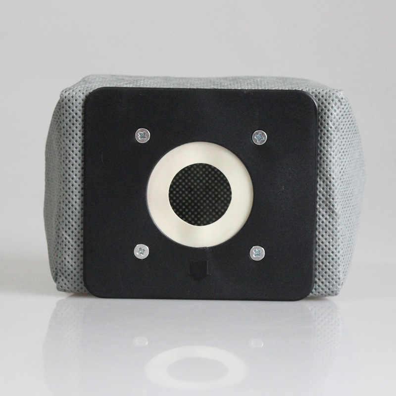 1PC zmywalny uniwersalny odkurzacz tkaniny woreczek pyłowy dla Philips Electrolux LG Haier Samsung torba do odkurzacza wielokrotnego użytku 11x10cm