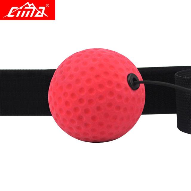 Boxing Ball String Reflex  Sport Training Fitness Silikon Punch Bands