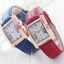 цена на Luxury Watch Fashion Relojes Mujer Ladies Quartz Watch Clock Woman Leather Casual Women Wristwatches Relogio Feminino Gifts