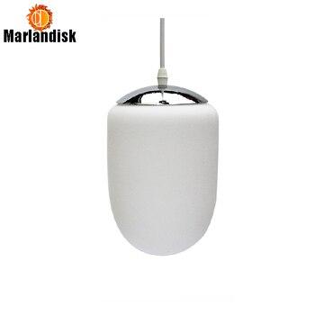 สีขาวมิลค์กี้บอลไฟจี้ร้านอาหารร้านกาแฟโคมไฟจี้วินเทจแขวนแขวนโคมไฟในร่มติดตั้งโคมไฟ