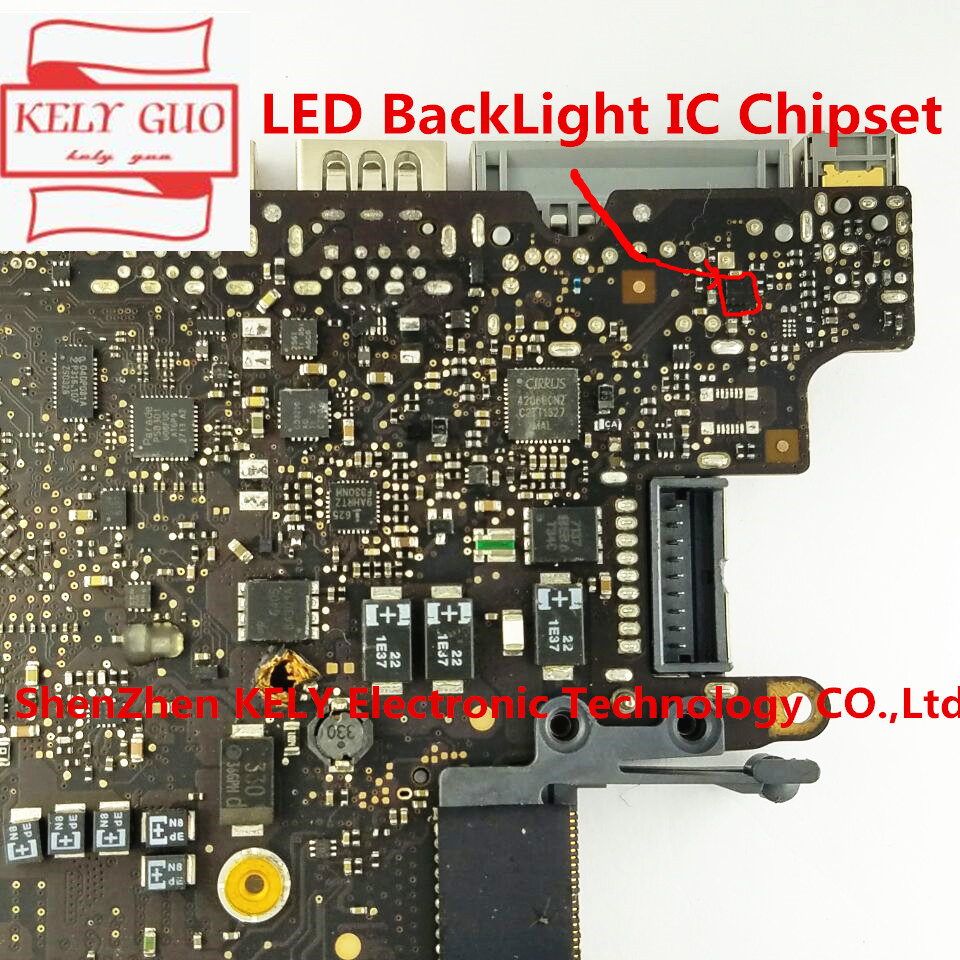 Led-Backlight IC Chipset For Macbook Pro 13-A1278 820-3115-A/B U9701/Backlight/Driver/..