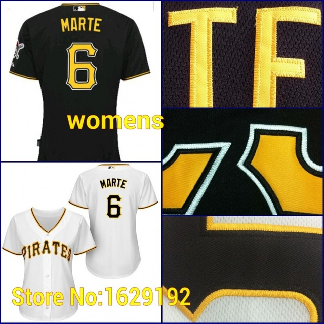 New Arrival Pittsburgh Pirates Womens 6 Starling Marte Girls