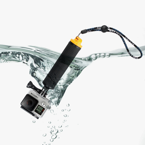 Image 4 - Vamson для go pro Hero 9, 8, 7, 6, 5, 4, черный водонепроницаемый плавающий ручной захват, водный спорт для DJI Action для Yi 4K для GoPro VP418