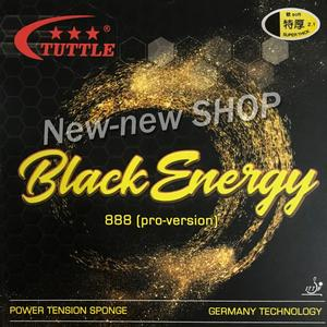 Image 2 - ITTF טאטל שחור אנרגיה 888 גרמניה עוגת ספוג 40 + טניס שולחן גומי, פינג פונג גומי משלוח חינם