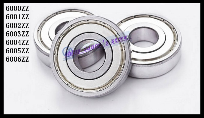 цены  5pcs/Lot 6000ZZ 6000 ZZ 10x26x8mm Mini Ball Bearing Miniature Bearing Deep Groove Ball Bearing Brand New