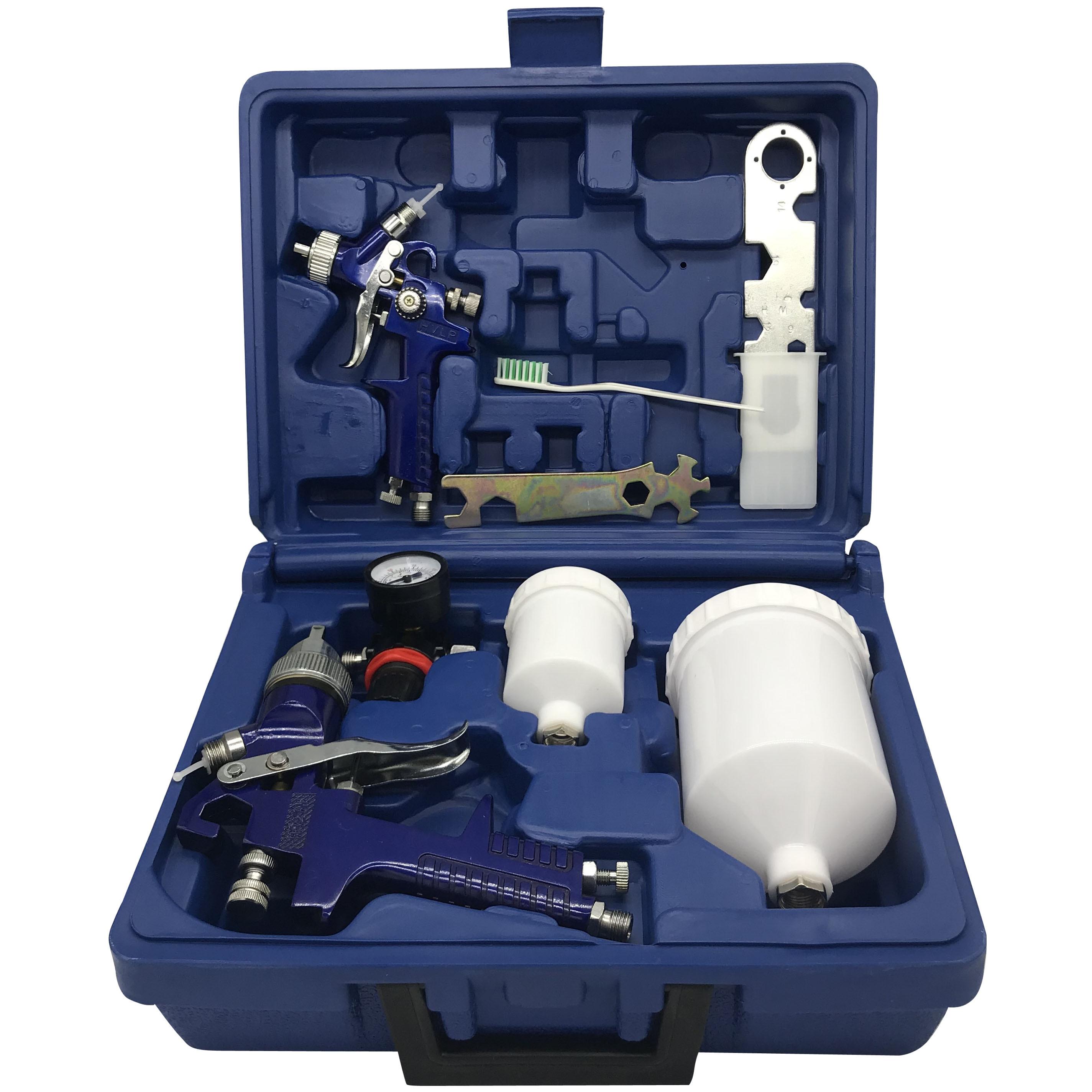 H827   H2000 spray paint gun with box Airbrush airless spray gun for painting cars Pneumatic tool 1 0 1 4mm