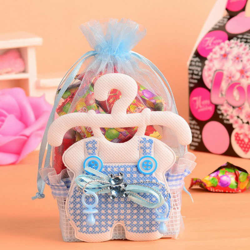 Baby Shower Candy Gift Bags Event Party Decoration Kids Baptism Birthday Bag