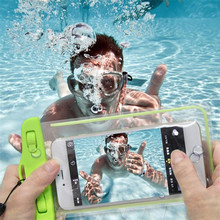 100% Sealed Waterproof Bag Pouch Phone Case For Samsung Glaxy ON5 ON7 G5500 G6000 S5830 S2 S3 S4 S5 Mini S6 S7 Edge Plus Bag