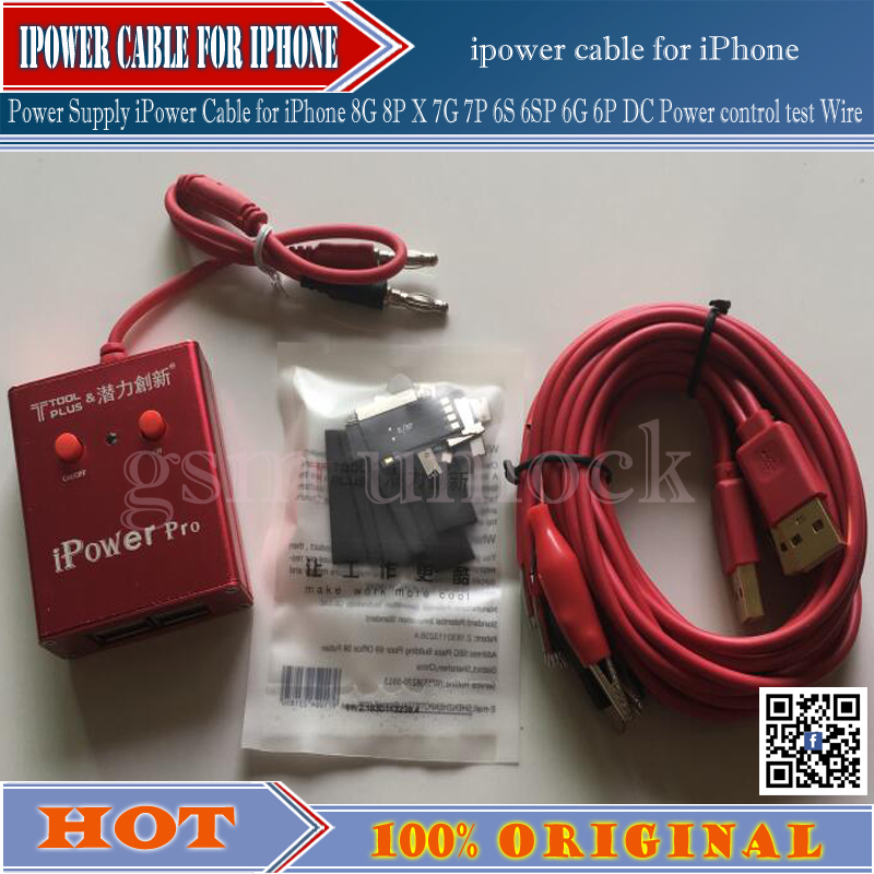 Gsmjustoncct  New Ipower Cable For Iphone 7G 7P 6S 6SP 6G 6P DC  Boot Control