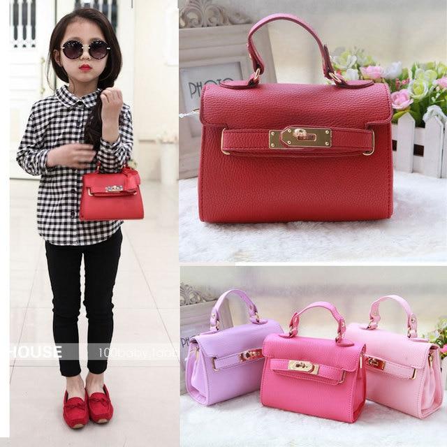 2017 new Designers Mini Cute Bag Children Kids Handbag baby Girls Shoulder  Bag Messenger Bags Purses Long Strap gift