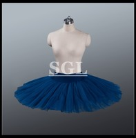 Free Shipping Ballet Rehearsal Half Tutu Skirt With Pants Various Colors Child Adult Size Ballet Pancake
