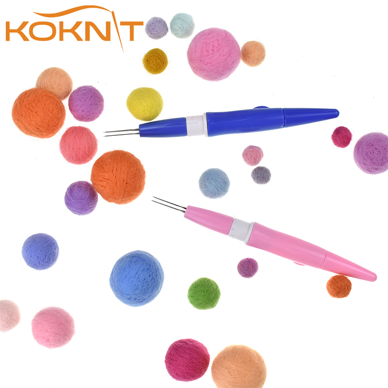 Embroidery Punch Diy Set Plastic Needle Pen Magic Sewing Tools Needles 3//7 New