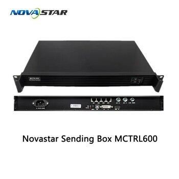 Novastar MCTRL600 enviando caixa 4 portas grande cartão cartão remetente painel liderado motorista levou controlador de parede cartão de envio