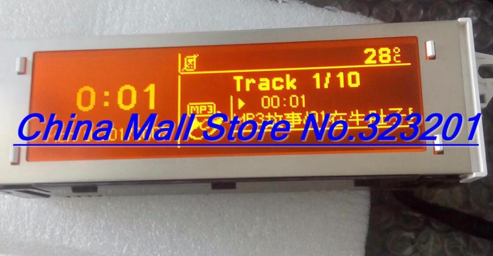 Prix pour Triumph Rouge écran rd45 rd43 CD écran POUR Citroen Sega Peugeot 307 308 408 soutien Anglais et Français 12 broches interface