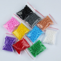 2.6mm mini hama perler fuse beads 10 Colors 5000 Pcs iron beads kids diy handmaking toys