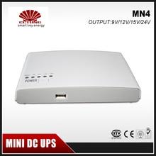 Mini Portable UPS With 110-240V Input 9V/12V/15/24V Output 8800mAh Lithium BatteryBuilt-in for Universal CCTV & Modem Equipment