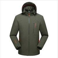 Odzież wierzchnia Kurtki Soft Shell Ubrania Nowe Mężczyzn Wspinaczki Ubrania Wiosna Odzież Męska Płaszcz Kurtki Sportowe Marki A2185
