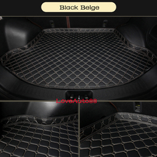 Car Trunk Mat For VW Tiguan MK2 2016 2017 2018 Boot Liner Tray Rear Cargo  Protective Styling Auto Accessories