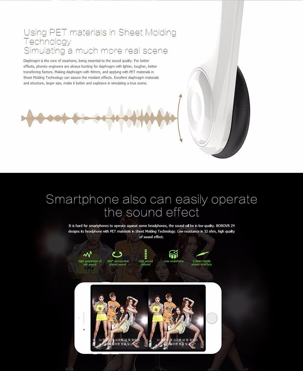VR BOX BOBOVR Z4 Virtual Reality goggles 3D Glasses Google cardboard BOBO VR GLASSES Z4 Headset for 4.3 - 6.0 inch smartphones 29
