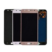 J500 ЖК-дисплей для Samsung Galaxy J5 2015 J500F J500FN J500M J500H ЖК-дисплей Дисплей Сенсорный экран планшета Ассамблеи отрегулировать Яркость