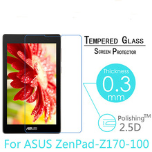 Tempered Glass For ASUS ZenPad C 7.0 Z170 Z170CG Z170CX Z170C P01Y P01Z Screen Protector 7 inch Tablet Protective Film 9H 0.3mm asus sabertooth z170 s