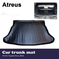 Atreus Car Accessories Waterproof Anti slip Trunk Mat Tray Floor Carpet Pad For Toyota Prius 2016