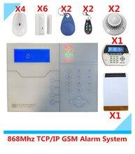 Best Selling Alarm TCP IP Burglar GSM Alarm System Security Home Alarm System GPRS Alarm System