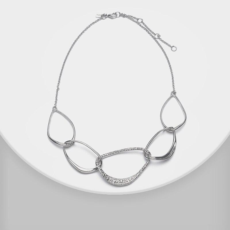 Géométrique collier de mode