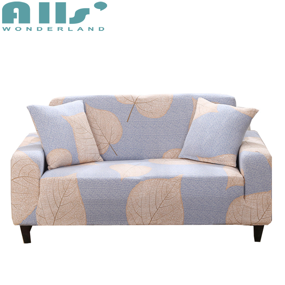 L Shaped Cover Sofa Couch Protector Slipcover 1pc Free Cushion Cover Elastic Cover For Sofa Corner Cheap And Modern Decoration