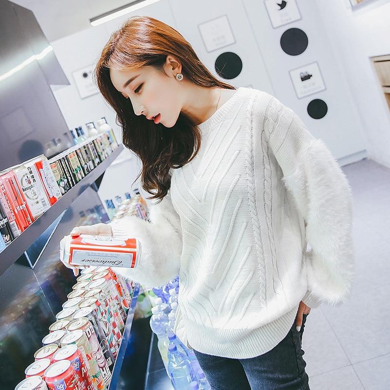 nuevas mujeres de los suéteres de cuello alto suéter espesar basa la camisa uni