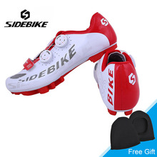 Sidebike Men Outdoor Cycling Shoes MTB Mountain Bike Shoes Self-locking Shoes Non-slip Bicycle Shoes Zapatillas Ciclismo
