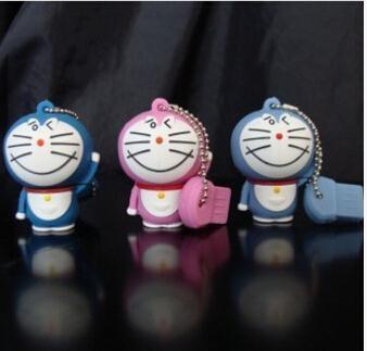 Retail blue loving smile robot cat usb flash drive 4GB 8GB 16GB 32GB USB Flash Drive ,pen drive memory stick S2 BB
