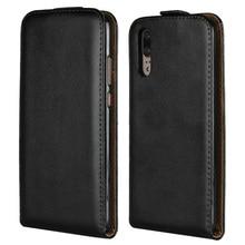 Чехол из натуральной кожи с откидной крышкой, Вертикальный флип-чехол для телефона huawei P9 lite Plus P20 Pro Y5 II Honor 5C 5X 6X 7X V9 V10