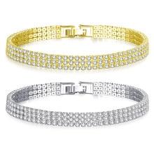 1e96f02d13 Popular Rhinestone Bracelet 3 Row-Buy Cheap Rhinestone Bracelet 3 ...