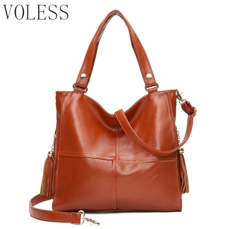 Large Capacity Bucket Women Casual Tote Bags High Quality Pu Leather Handbag Shoulder Bags Famous Brand Crossbody Bag For Women купить