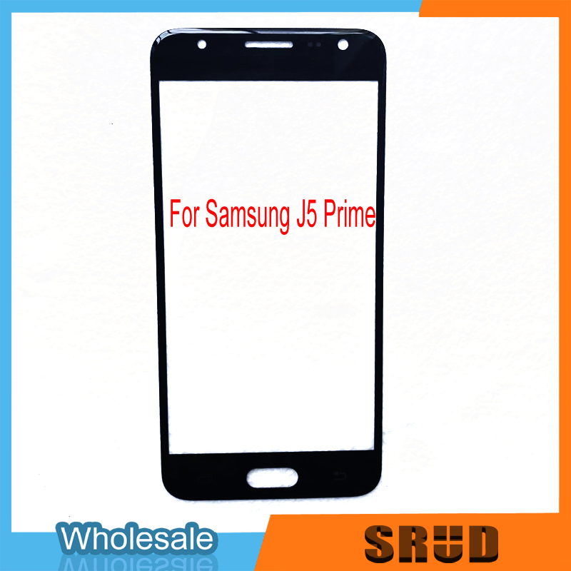 50Pcs Lot Good Quality LCD Outer Glass For Samsung Galaxy J5 Prime G5700 ON5 Dual Hole