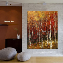 Landscape oil painting on canvas room decoration modern large size 100% hand-drawn abstract painting drawing new oil painting стоимость