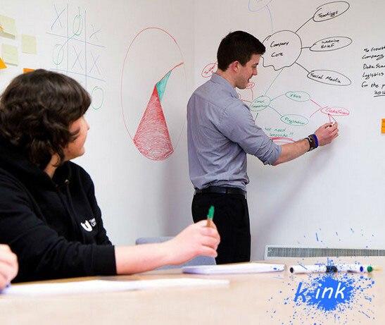Removable Whiteboard Sticker , Vinyl Chalkboard Wall Sticker For Children Paint / Home Decoration