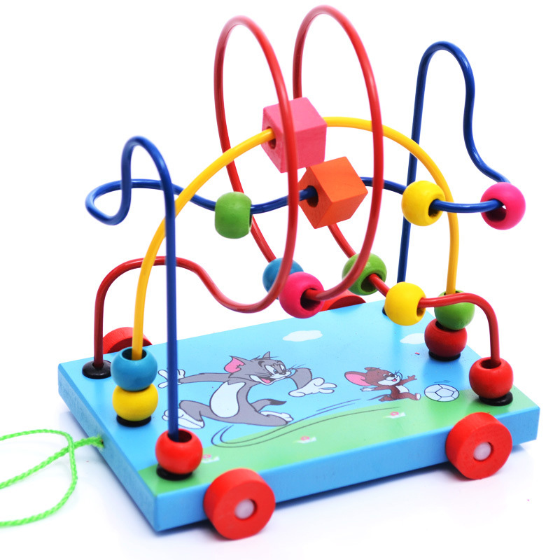Ouy Children S Puzzle Hands On Pull Toy Wooden Cartoon