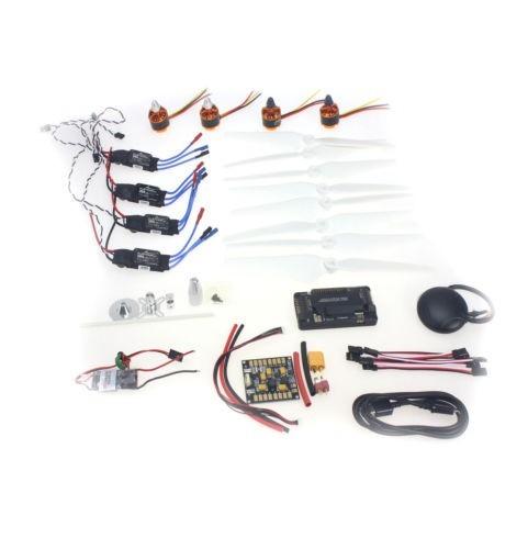 F15843-J Necessidade kits para 4-Aix RC Helicóptero 920KV Motor + ESC 30A + 9443 Adereços + APM2.8 + GPS para 450 4-Aix Multi-Rotor