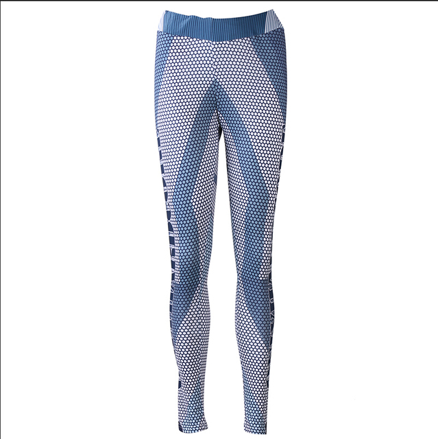 473f292ea880 Sexy Fitness Leggings Designer Leggings Patchwork Capris Fitness Fashion Color  Block Mesh Insert Pants
