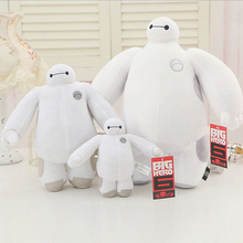 """18 ס""""מ גיבור גדול 6 Baymax קטיפה רובוט chrismas בובות שלג מושלג חיות קטיפה תינוק צעצוע בובה"""